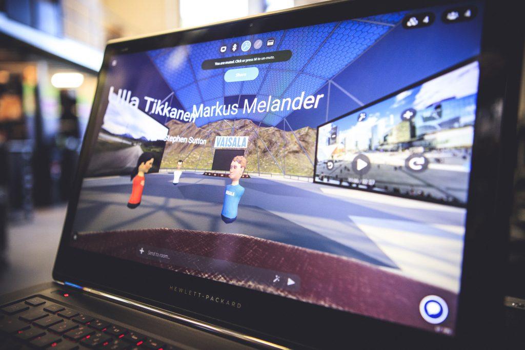 Virtuaalitapahtumissa toisia voi kohdata avatarin avulla