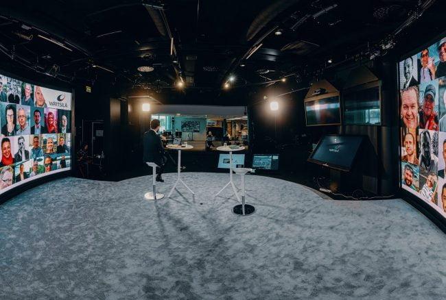 Studiosta lähetetty virtuaalitapahtuma tuo ohjelmaan yllätyksellisyyttä